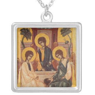 The Holy Trinity Silver Plated Necklace