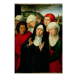 The Holy Women, right hand panel Poster