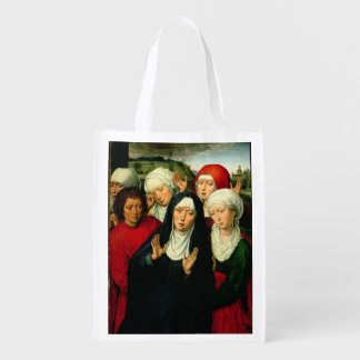 The Holy Women, right hand panel Grocery Bags