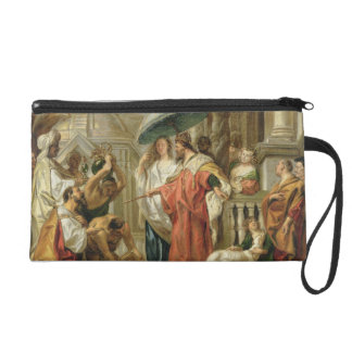 The Homage of Caliph Harun Al-Rashid to Charlemagn Wristlet Clutch