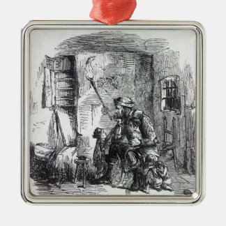 The Home of Rick-Burner, illustration from Christmas Ornament