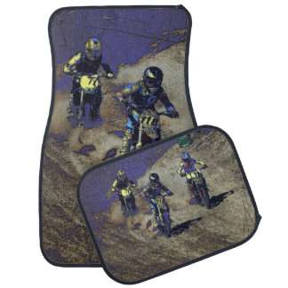The Home Stretch! - Motocross Racer Car Mat