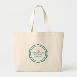 The Homeschool Sisters Podcast Library Tote Bag