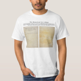 The Homestead Acts Tshirts