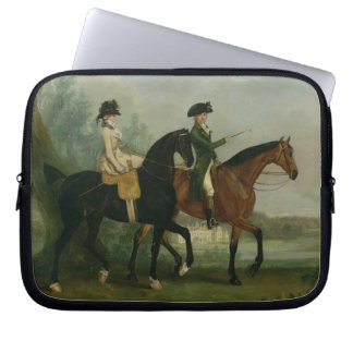 The Hon. Marcia Pitt Riding with her Brother, the Laptop Sleeve