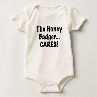 The Honey Badger Cares Baby Creeper