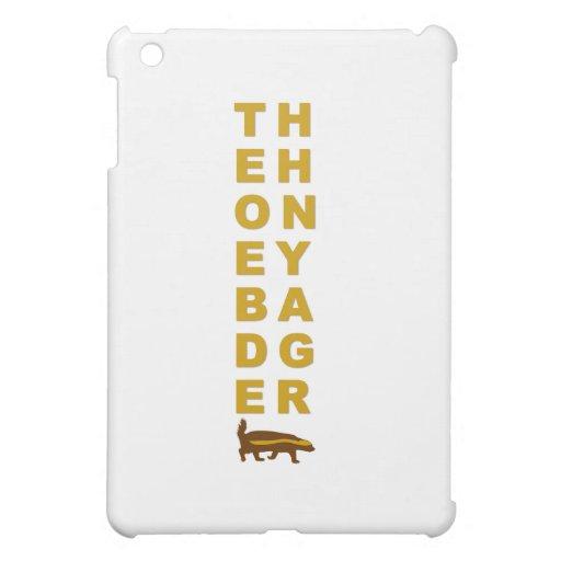 the honey badger iPad mini cover