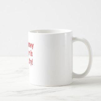 The Honey Badger is So Nasty Basic White Mug