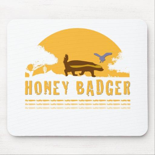 The Honey Badger Mousepads