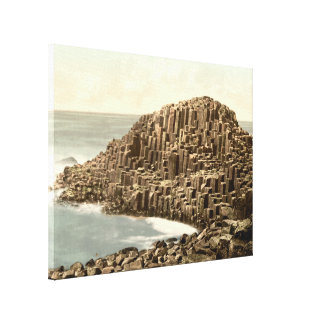 The Honeycombs, Giant's Causeway, Co Antrim Canvas Prints
