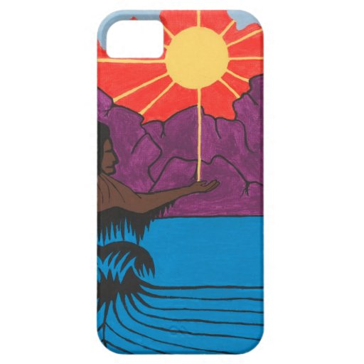 The Honouring of the Great Spirit Creator iPhone 5 Covers