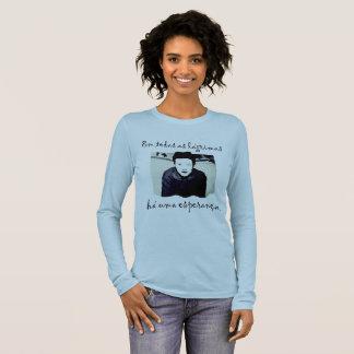 The Hope of Simone de Beauvoir Long Sleeve T-Shirt