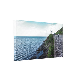 The horizon over the Irish sea Canvas Print