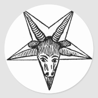 The Horned God Classic Round Sticker