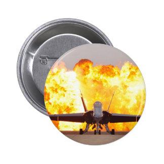 The Hornet 6 Cm Round Badge