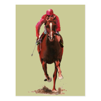The Horse and Jockey Postcard