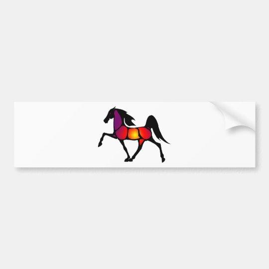THE HORSE EVE BUMPER STICKER