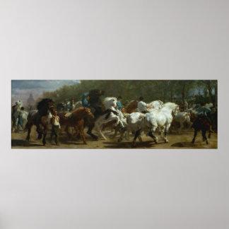 The Horse Fair by Rosa Bonfeur Poster