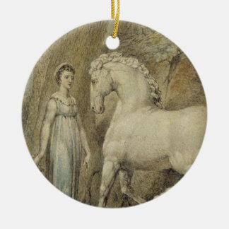 The Horse, from 'William Hayley's Ballads', c.1805 Christmas Ornament