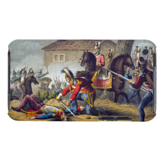 The Horse Guards at the Battle of Waterloo, engrav Barely There iPod Covers