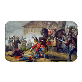 The Horse Guards at the Battle of Waterloo, engrav iPhone 3 Case-Mate Case