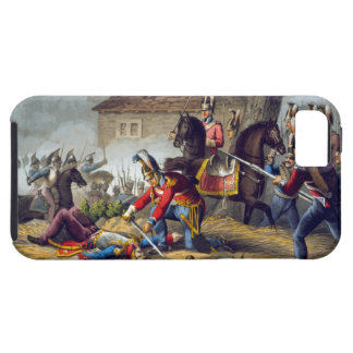 The Horse Guards at the Battle of Waterloo, engrav iPhone 5 Cases