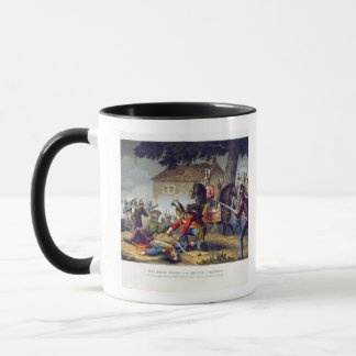 The Horse Guards at the Battle of Waterloo, engrav Mug