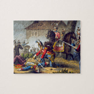 The Horse Guards at the Battle of Waterloo, engrav Puzzles