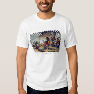 The Horse Guards at the Battle of Waterloo, engrav T-shirt