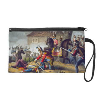 The Horse Guards at the Battle of Waterloo, engrav Wristlet