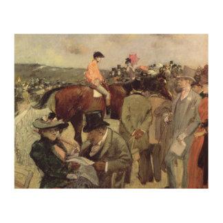 The Horse-Race, c.1890 Wood Wall Art
