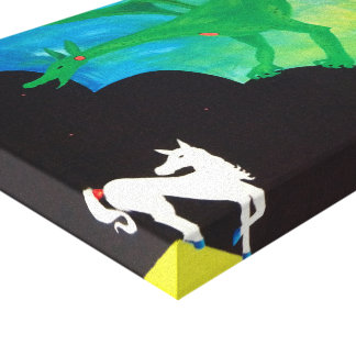 The Horse & The Dragon Canvas Print