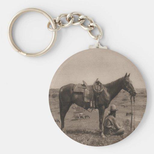 The Horse Wrangler 1910 Keychains