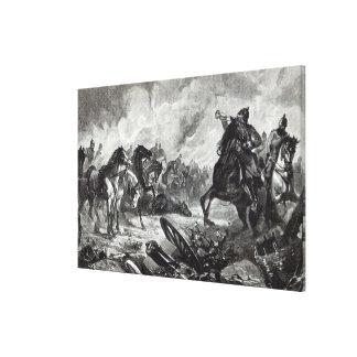 The horses of Gravelotte Canvas Print