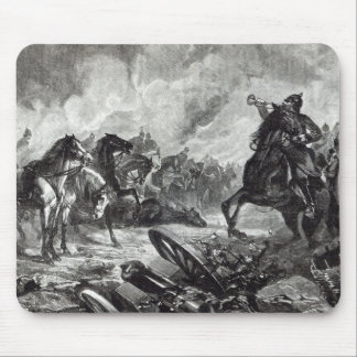The horses of Gravelotte Mouse Mat