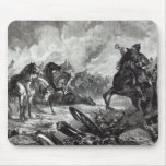 The horses of Gravelotte Mouse Pads