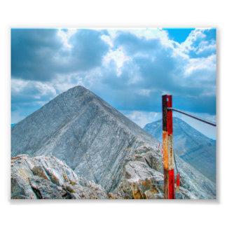 The Horsie mountain path Photo Print