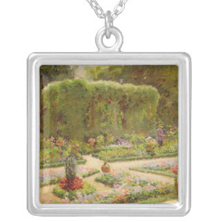 The Horticulturalist's Garden Silver Plated Necklace