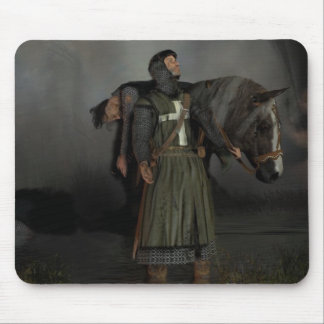 The hospitaller knight mouse mat