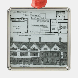The Hostelry and The Stores Christmas Ornament