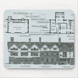The Hostelry and The Stores Mouse Mat