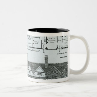 The Hostelry and The Stores Two-Tone Coffee Mug