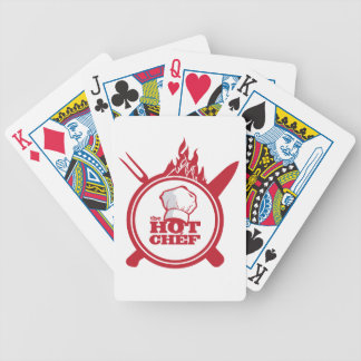 THE HOT CHEF BICYCLE PLAYING CARDS