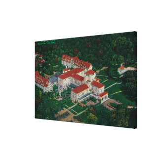 The Hotel Del Monte from the airDel Monte, CA Stretched Canvas Prints