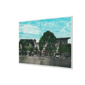 The Hotel Maryland and GroundsPasadena, CA Canvas Print