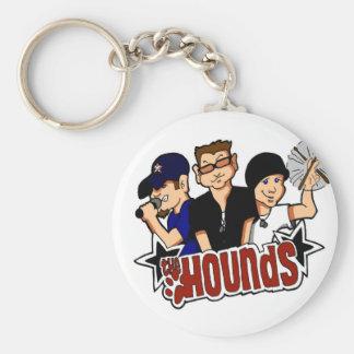 The Hounds Cartoon Keychain