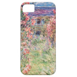 The House among the Roses, Claude Monet iPhone 5 Covers