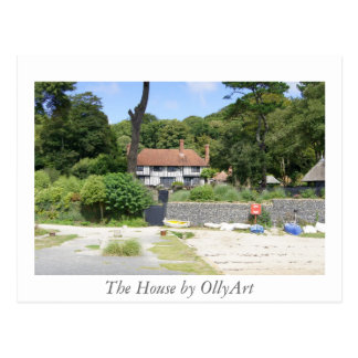 The House by OllyArt Photography Postcard