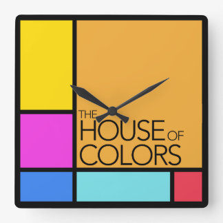 The House of Colors Clock
