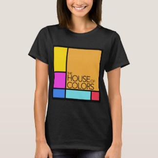The House of Colours Logo on a Black T-Shirt